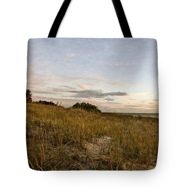 Tote Bag featuring the photograph Autumn In The Dunes by Michelle Calkins
