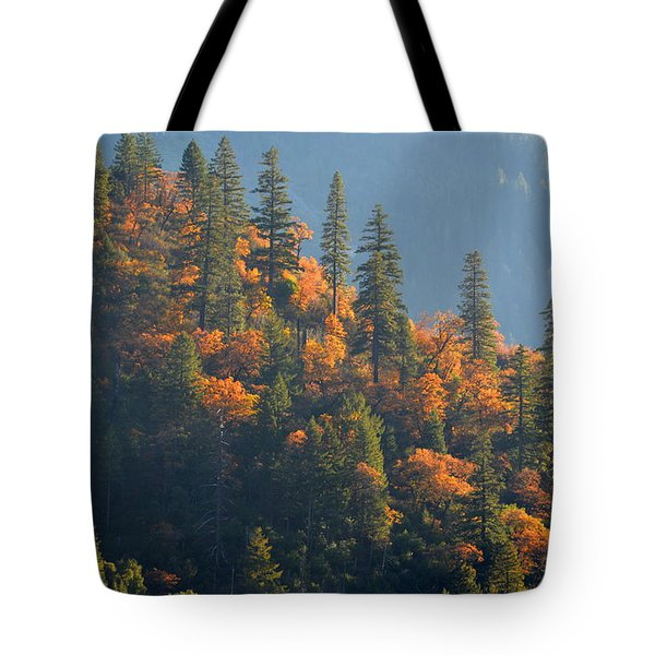 Autumn In The Feather River Canyon Tote Bag