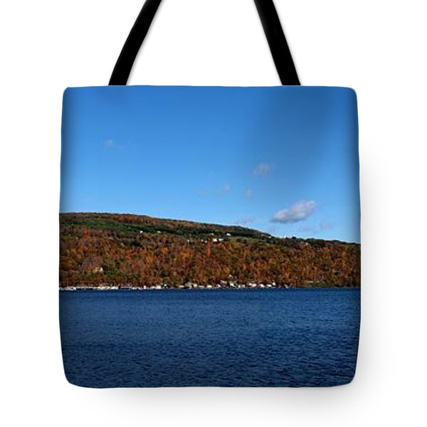Autumn In The Finger Lakes Tote Bag