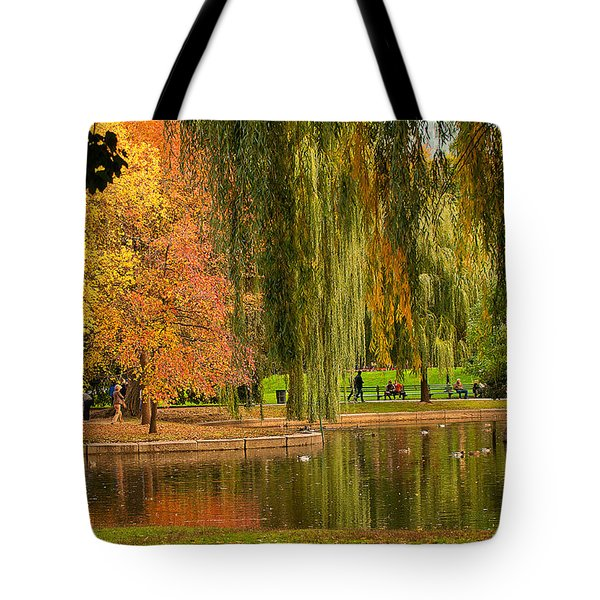 Autumn In The Garden Tote Bag