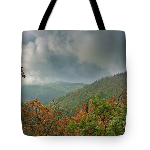 Autumn In The Ilsetal, Harz Tote Bag