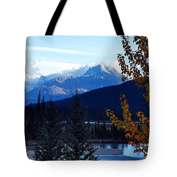 Autumn In The Mountains Tote Bag