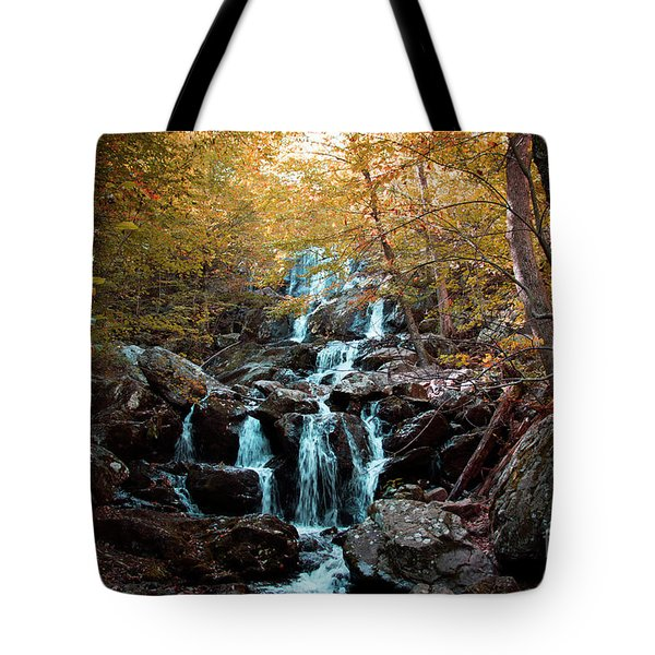 Autumn In The Mountains Tote Bag by Rebecca Davis