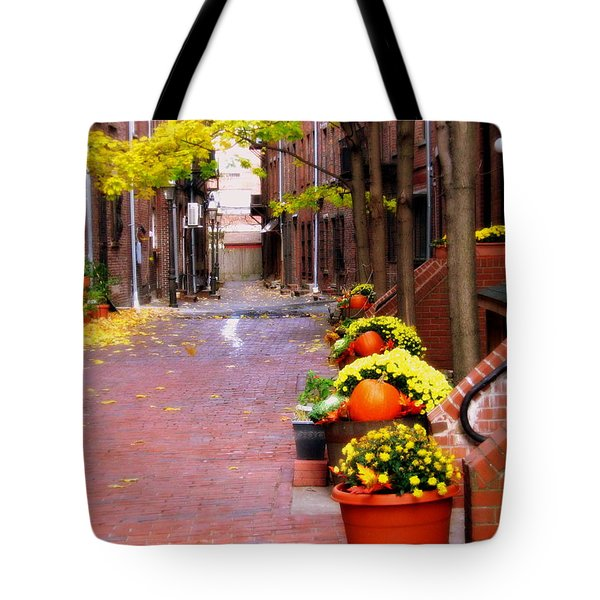 Autumn In The North End Tote Bag