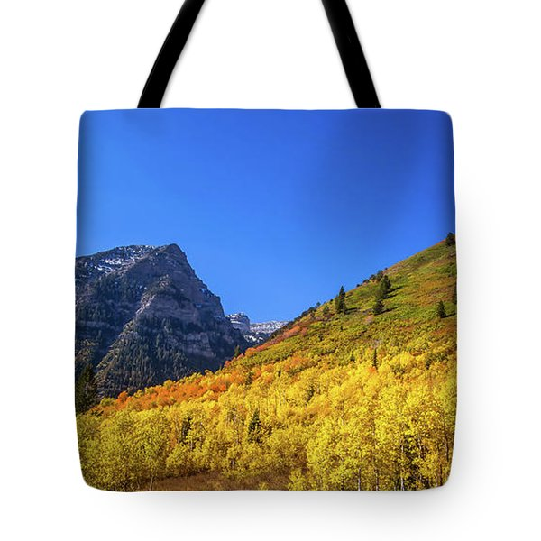 Autumn In The Rockies Tote Bag