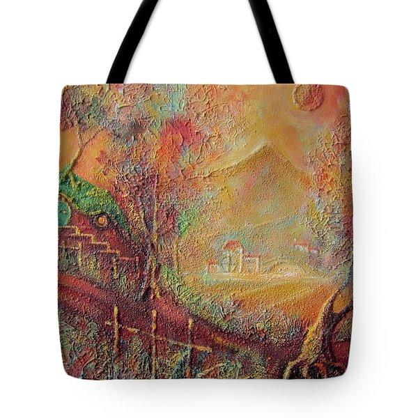 Autumn In The Shire Bag End Tote Bag by Joe  Gilronan