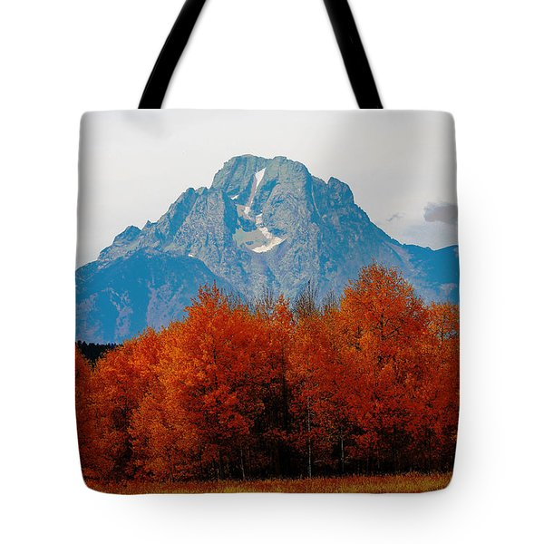Autumn In The Tetons 002 Tote Bag