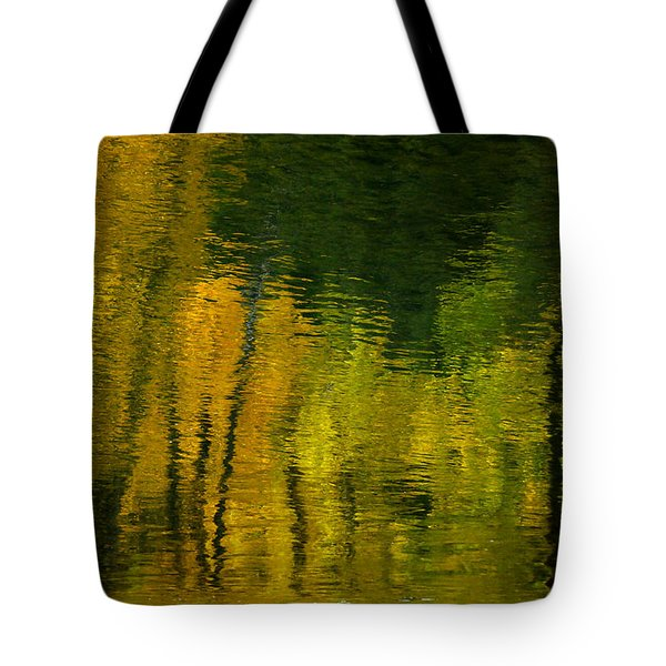 Autumn In Truckee Tote Bag by Donna Blackhall
