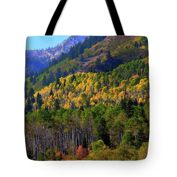 Autumn In Utah Tote Bag