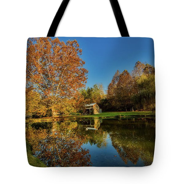 Autumn In West Virginia Tote Bag by L O C