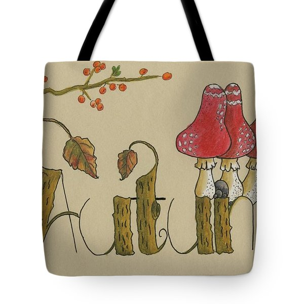 Autumn Is Coming Tote Bag