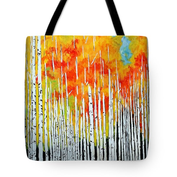 Autumn Tote Bag by Jackie Carpenter