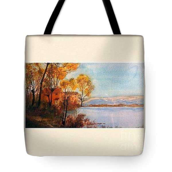 VIDA Tote Bag - SKY BLUE CITY by VIDA fTvs9rIZZ