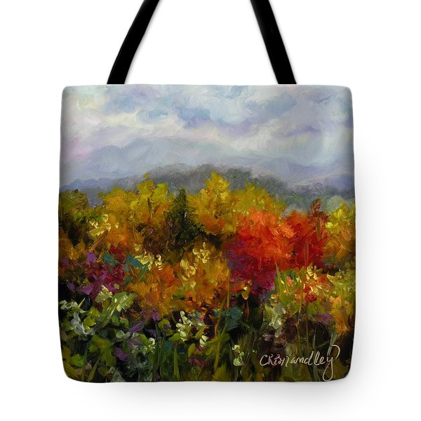 Autumn Jewels Tote Bag by Chris Brandley