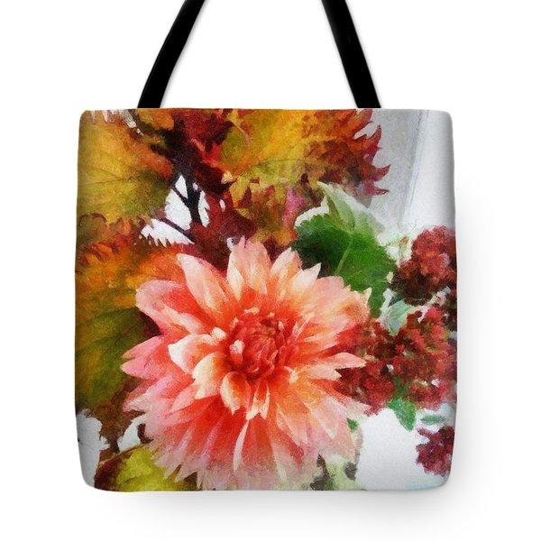 Autumn Joy Tote Bag by Michelle Calkins