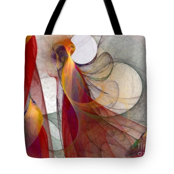Autumn Tote Bag by Karin Kuhlmann
