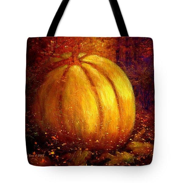 Autumn Landscape Painting Tote Bag