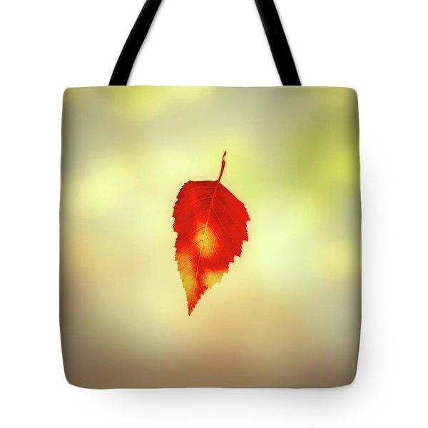 Autumn Leaf Tote Bag by Bob Orsillo