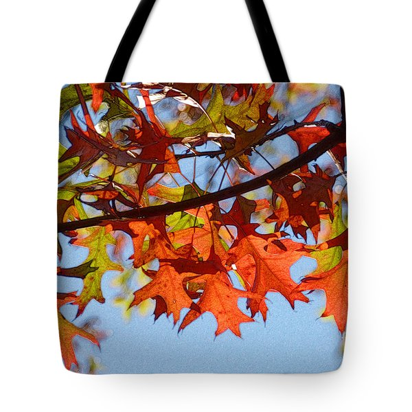Autumn Leaves 16 Tote Bag by Jean Bernard Roussilhe