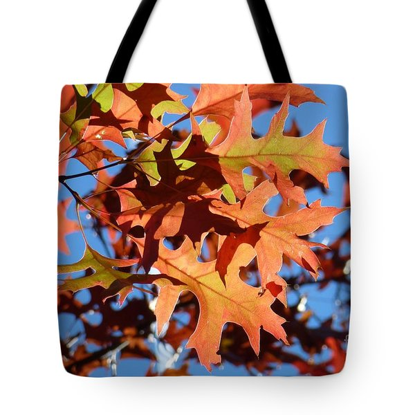 Autumn Leaves 17 Tote Bag by Jean Bernard Roussilhe