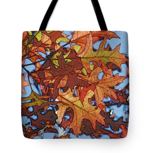 Autumn Leaves 17 - Variation  2 Tote Bag by Jean Bernard Roussilhe