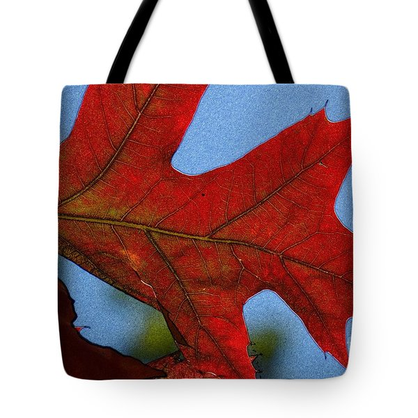 Autumn Leaves 18 Tote Bag by Jean Bernard Roussilhe