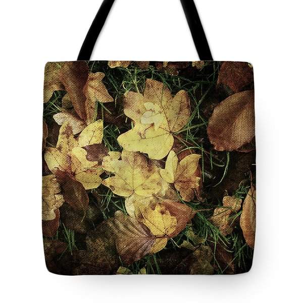 Autumn Leaves Are Falling Down... Tote Bag