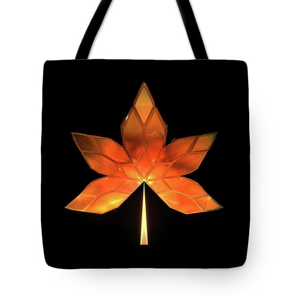 Autumn Leaves - Frame 260 Tote Bag