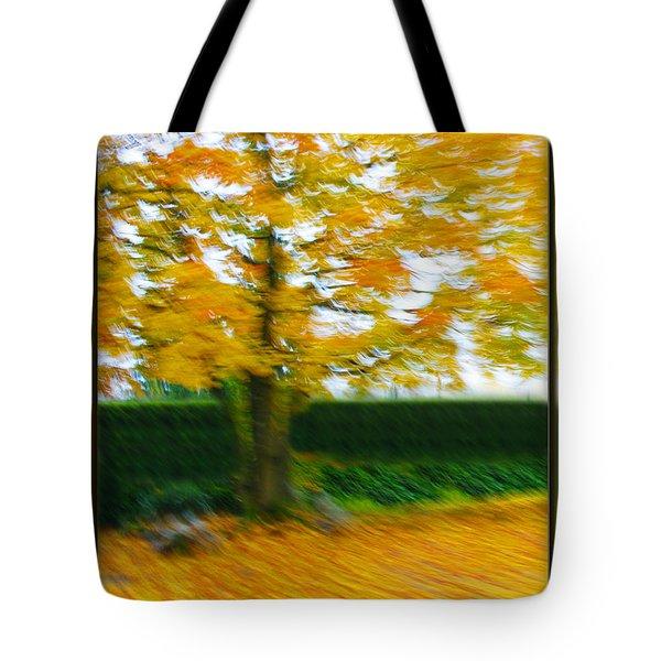 Autumn, Leaves Tote Bag