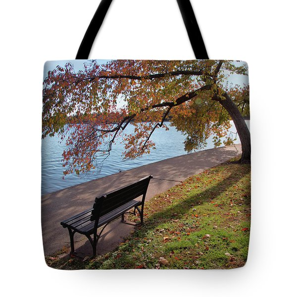 Autumn Leaves In Dc Tote Bag