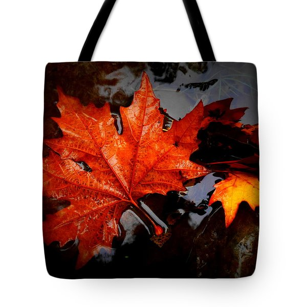 Autumn Leaves In Tumut Tote Bag
