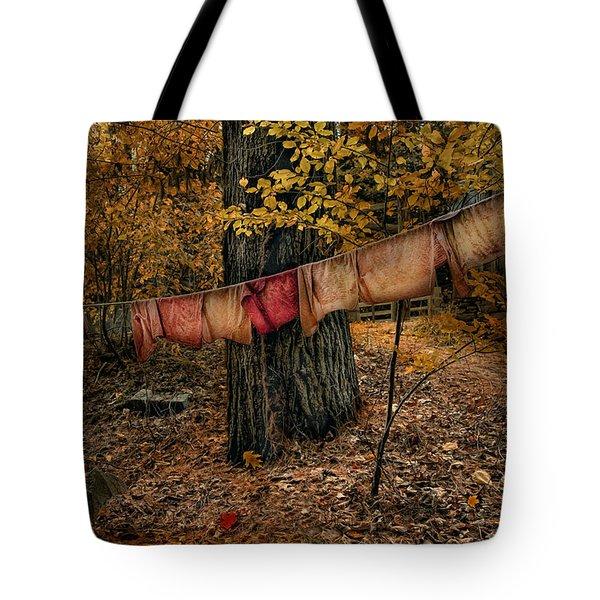 Autumn Linens Tote Bag