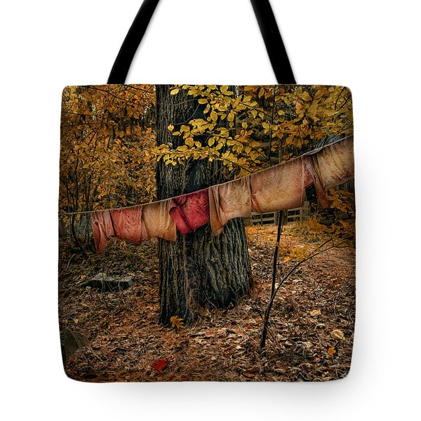 Autumn Linens Tote Bag