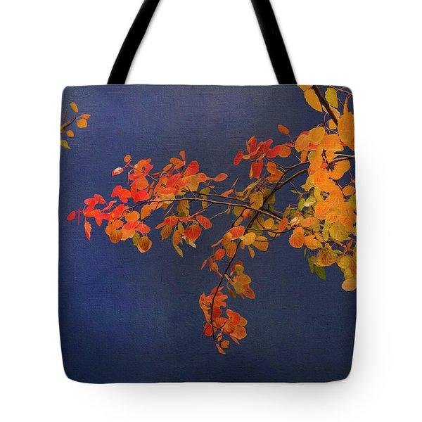 Autumn Matinee Tote Bag by Theresa Tahara