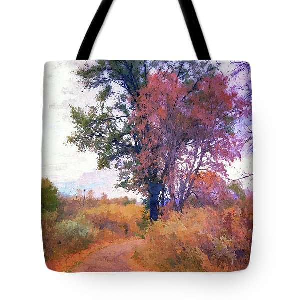 Autumn Melancholy Tote Bag
