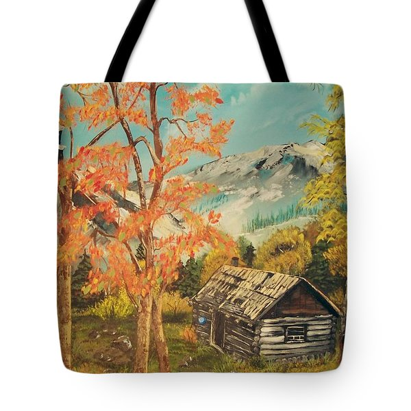 Autumn Memories Tote Bag by Sharon Duguay