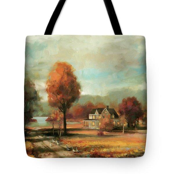 Autumn Memories Tote Bag