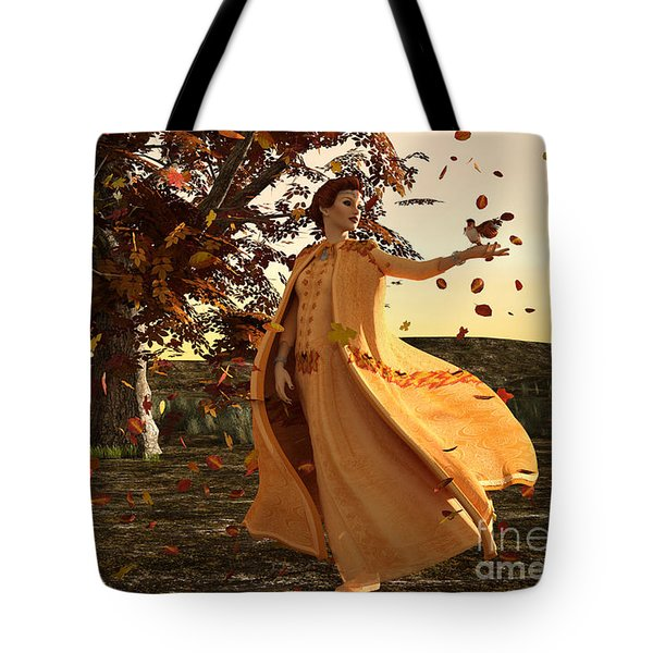 Autumn Tote Bag by Methune Hively