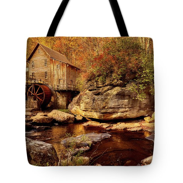 Autumn Mill Tote Bag by L O C