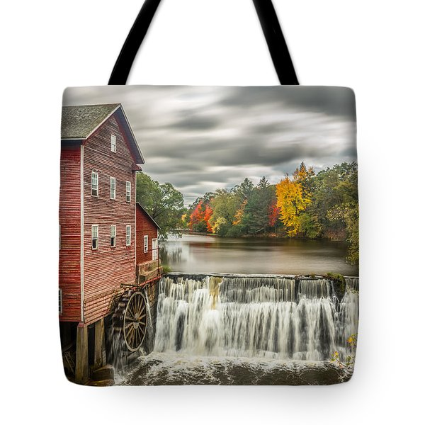 Autumn Mill Tote Bag by Mark Goodman