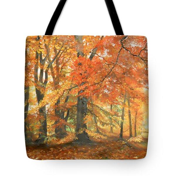 Autumn Mirage Tote Bag