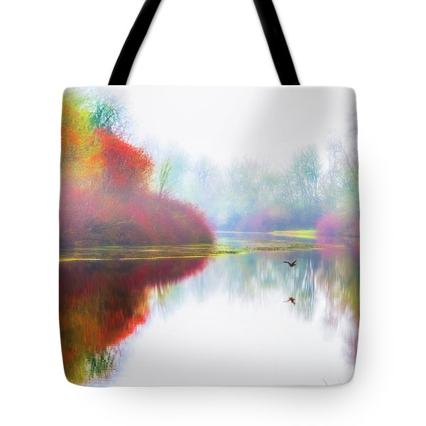 Autumn Morning Dream Tote Bag