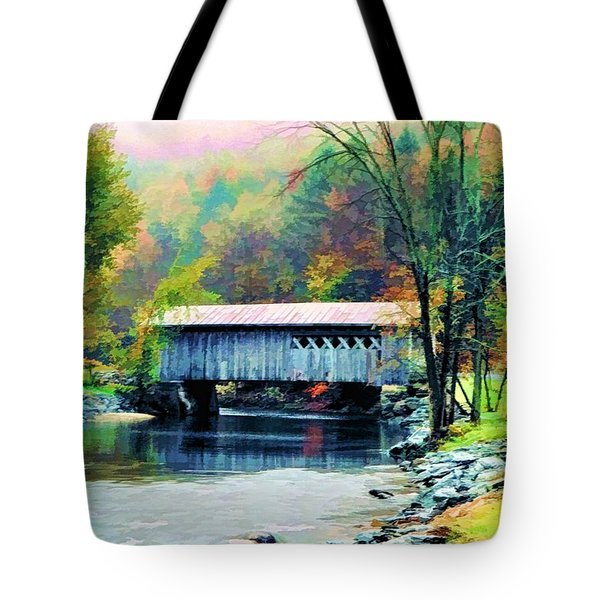 Autumn Morning Mist 2 Tote Bag by Dan Dooley