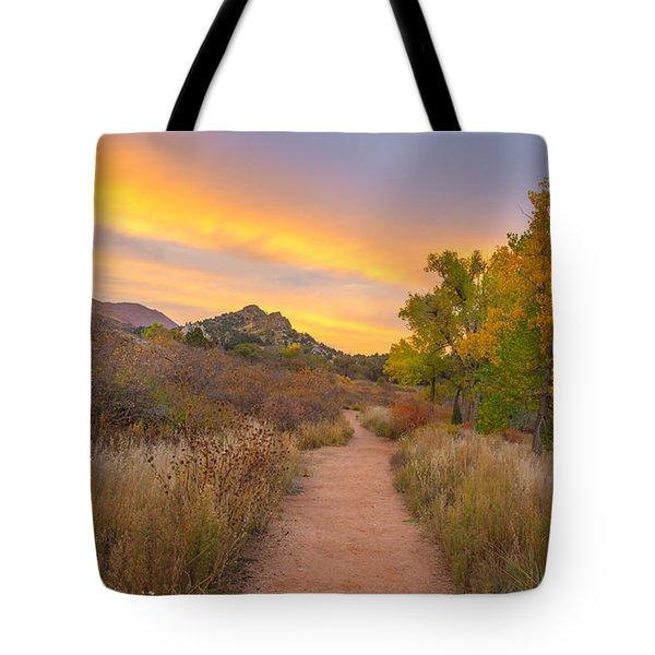 Autumn Mystique Tote Bag