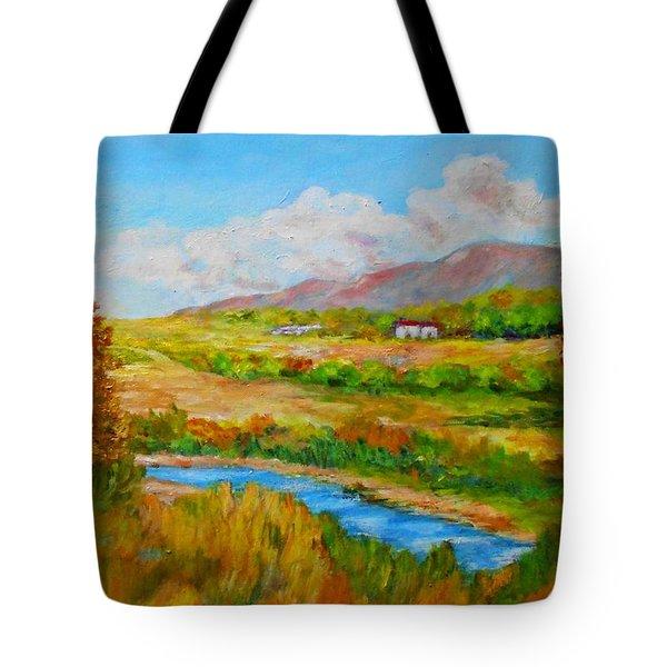 Autumn Nature Tote Bag