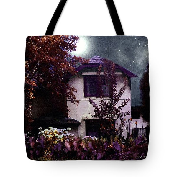Autumn Night In The Country Tote Bag by RC deWinter