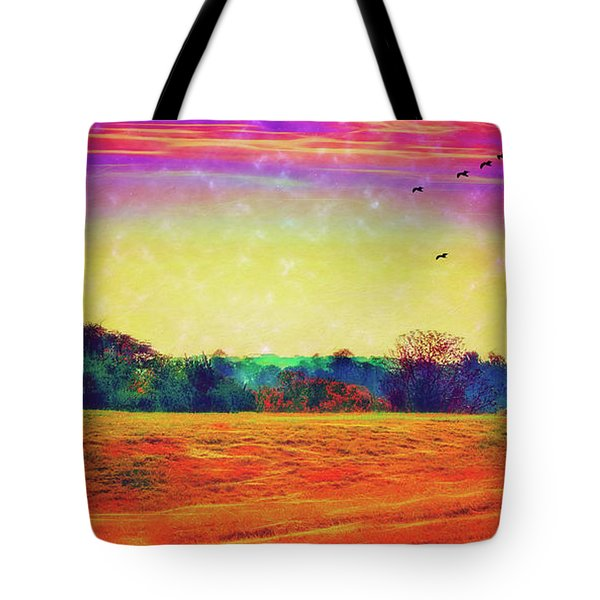 Autumn On Earth Two Tote Bag