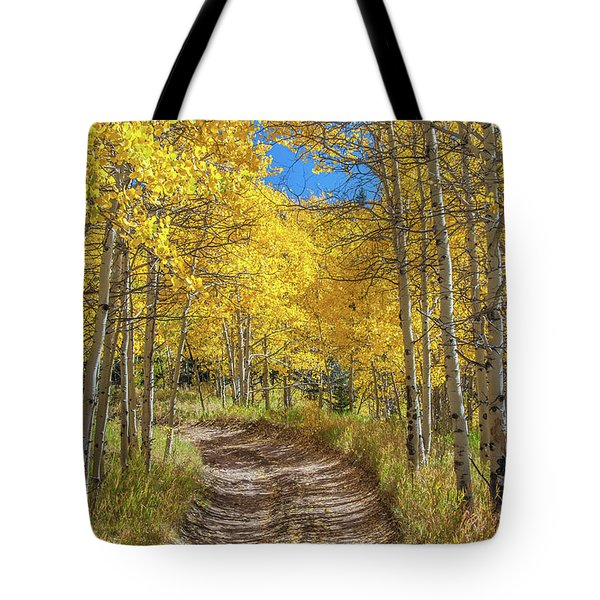 Autumn On Medano Pass Tote Bag