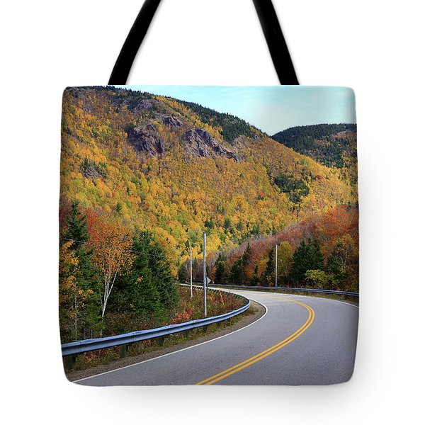 Autumn On The Cabot Trail, Cape Breton, Canada Tote Bag