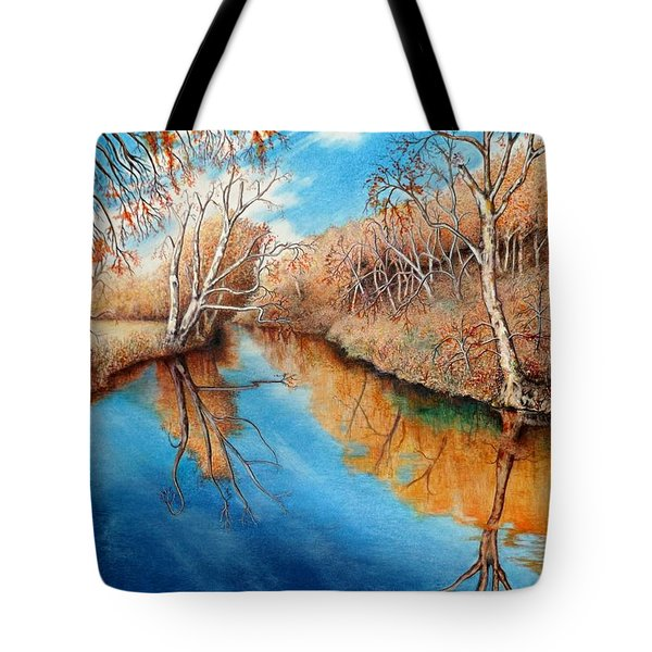 Autumn On The Elkhorn Tote Bag